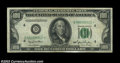 Fr. 2157-D* $100 1950 Mule Federal Reserve Note. CGA Extremely Fine 40. A mule star note that is scarce in any grade