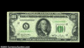 Fr. 2157-L* $100 1950 Federal Reserve Note. Extremely Fine. A very rare non-mule star example which is unlisted in the O...