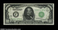 Small Size:Federal Reserve Notes, Fr. 2212-F $1,000 1934A Federal Reserve Note. CGA Gem ...