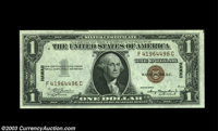 Fr. 2300 $1 1935A Hawaii Silver Certificate. Gem Crisp Uncirculated. An unusually well centered example of the rare F-C...
