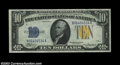 Small Size:World War II Emergency Notes, Fr. 2309 $10 1934A North Africa Silver Certificate. CGA Gem ...
