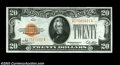 Small Size:Gold Certificates, Fr. 2402 $20 1929 Gold Certificate. Choice About ...