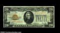 Small Size:Gold Certificates, Fr. 2402* $20 1928 Gold Certificate. Fine.
