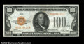 Small Size:Gold Certificates, Fr. 2405 $100 1928 Gold Certificate. Extremely Fine-About ...