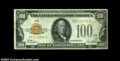 Small Size:Gold Certificates, Fr. 2405 $100 1928 Gold Certificate. Very Fine+.