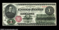 Fr. 16 $1 1862 Legal Tender Very Choice New. This crackling fresh, fully original Chase Ace has bold embossing and bold...