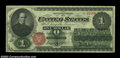 Large Size:Legal Tender Notes, Fr. 16 $1 1862 Legal Tender CGA Choice Uncirculated 63. ...