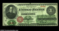 Large Size:Legal Tender Notes, Fr. 16 $1 1862 Legal Tender New. This pretty note has ...