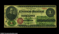 Large Size:Legal Tender Notes, Fr. 16 $1 1862 Legal Tender CGA About Uncirculated 50. The ...