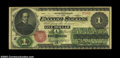 Large Size:Legal Tender Notes, Fr. 16a $1 1862 Legal Tender CGA Very Fine 35. A sleeper ...