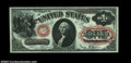 Large Size:Legal Tender Notes, Fr. 27 $1 1878 Legal Tender Superb Gem New. Boardwalk ...