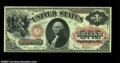 Large Size:Legal Tender Notes, Fr. 27 $1 1878 Legal Tender Very Choice New. This pretty ...