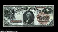 Fr. 29 $1 1880 Legal Tender Very Choice New. The right face margin is a touch too tight on this otherwise impeccable Lar...