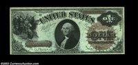 Fr. 29 $1 1880 Legal Tender Very Choice New. This perfectly original note would rate the full Gem grade if the bottom ma...