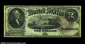 Large Size:Legal Tender Notes, Fr. 54 $2 1880 Legal Tender Fine. This evenly circulated ...