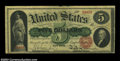 Large Size:Legal Tender Notes, Fr. 63b $5 1863 Legal Tender Fine-Very Fine. There is a ...