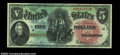Large Size:Legal Tender Notes, Fr. 64 $5 1869 Legal Tender CGA Gem Uncirculated 67. A ...
