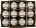 Autographs:Baseballs, Gary Carter Single Signed Baseballs Lot of 12. Backstopextraordinaire Gary Carter was considered the best at hisposition,...