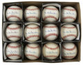 Autographs:Baseballs, Duke Snider Single Signed Baseballs Lot of 12. Sparkling dozensingles come to us here courtesy of the Dodgers' beloved Duk...