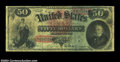 Large Size:Legal Tender Notes, Fr. 151 $50 1869 Legal Tender Very Good-Fine. Lots of ...