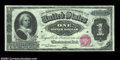 Large Size:Silver Certificates, Fr. 215 $1 1886 Silver Certificate Gem New. Bright, fresh ...