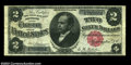 Large Size:Silver Certificates, Fr. 245 $2 1891 Silver Certificate Very Fine. A strictly ...