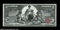 Large Size:Silver Certificates, Fr. 247 $2 1896 Silver Certificate Choice About New. This ...