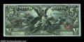 Large Size:Silver Certificates, Fr. 270 $5 1896 Silver Certificate Choice About New. ...