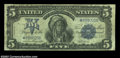 Large Size:Silver Certificates, Fr. 278 $5 1899 Silver Certificate Star Note Very Good-Fine.
