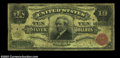 Large Size:Silver Certificates, Fr. 292 $10 1886 Silver Certificate Very Good-Fine. Only ...