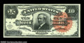 Large Size:Silver Certificates, Fr. 293 $10 1886 Silver Certificate Choice Extremely Fine. ...