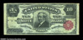 Large Size:Silver Certificates, Fr. 301 $10 1891 Silver Certificate Choice Fine. A nice ...