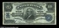Large Size:Silver Certificates, Fr. 303 $10 1908 Silver Certificate Very Fine. This Blue ...