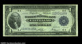 Large Size:Federal Reserve Bank Notes, Fr. 719 $1 1918 Federal Reserve Bank Note Superb Gem New. ...