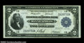 Fr. 772 $2 1918 Federal Reserve Bank Note Very Fine. A beautiful looking Minneapolis Battleship in spite of a fairly lar...