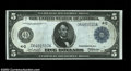 Large Size:Federal Reserve Notes, FR. 856 $5 1914 Federal Reserve Note Gem New. This Burke-...