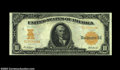 Large Size:Gold Certificates, Fr. 1171 $10 1907 Gold Certificate CGA Choice Uncirculated ...