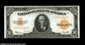 Large Size:Gold Certificates, Fr. 1173 $10 1922 Gold Certificate Choice New. The bottom ...