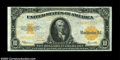 Large Size:Gold Certificates, Fr. 1173 $10 1922 Gold Certificate Choice About New. Well ...