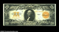 Large Size:Gold Certificates, Fr. 1187 $20 1922 Gold Certificate About New. Bright and ...