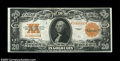 Large Size:Gold Certificates, Fr. 1187 $20 1922 Gold Certificate Very Fine. A nice ...