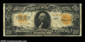 Large Size:Gold Certificates, Fr. 1187 $20 1922 Gold Certificate Star Note Fine. ...