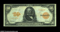 Large Size:Gold Certificates, Fr. 1199 $50 1913 Gold Certificate Choice Extremely Fine. ...