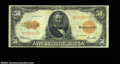 Large Size:Gold Certificates, Fr. 1200 $50 1922 Gold Certificate Fine-Very Fine. But for ...