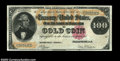 Large Size:Gold Certificates, Fr. 1206 $100 1882 Gold Certificate Choice Extremely Fine. ...