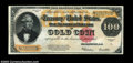Large Size:Gold Certificates, Fr. 1215 $100 1922 Gold Certificate CGA Choice Uncirculated ...