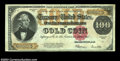 Large Size:Gold Certificates, Fr. 1215 $100 1922 Gold Certificate Extremely Fine-About New....