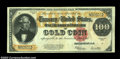 Large Size:Gold Certificates, Fr. 1215 $100 1922 Gold Certificate CGA Very Fine 35. ...