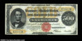 Large Size:Gold Certificates, Fr. 1217 $500 1922 Gold Certificate Choice Very Fine. ...