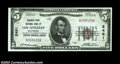 Los Angeles, CA - $5 1929 Ty. 1 Security-First NB Ch. # 2491 A very nice Choice-Gem Crisp Uncirculated note that ha
